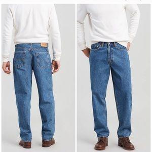 Levi's 560 loose fit taper leg cotton jeans 34x29
